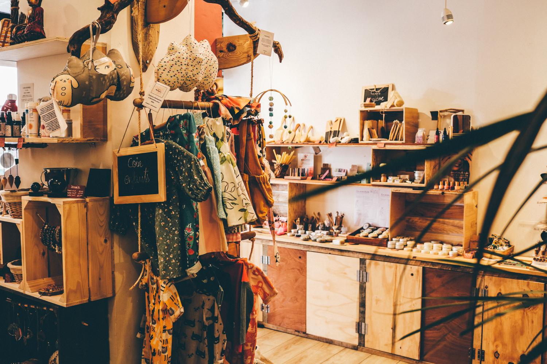 intérieur boutique de la Misstinguette