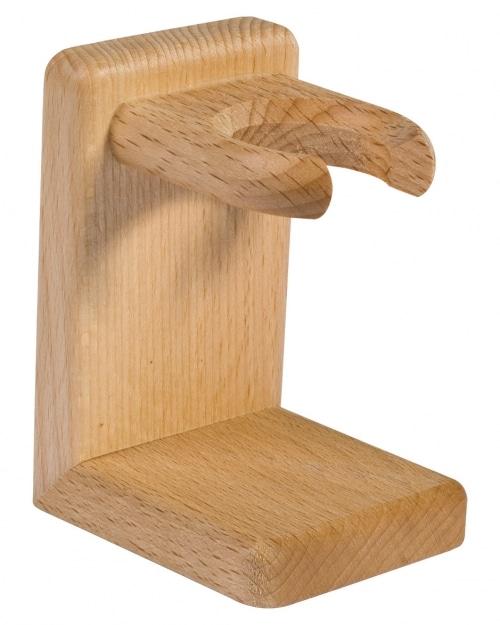 Porte-blaireau en bois